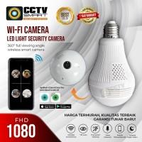 Kamera CCTV Lampu Spycam Bulb Ip Camera
