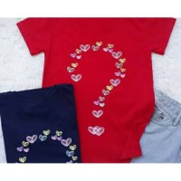 Kaos Tanda Tanya Wanita tee tumblr t-shirt Kaos adem