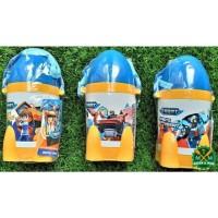 S 821 TBOT Tobot Botol Minum Anak Technoplast BPA Free Thumbler Bottle