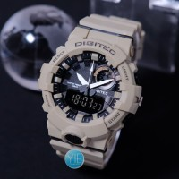 Jam Tangan Pria Sport Digitec DG 2135 Dual Time Anti Air Original K