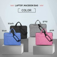 Tas laptop selempang premium MacBook 13 dan 15.6 inch