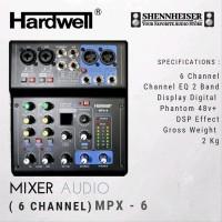 Mixer Audio Hardwell MPX 6 Original