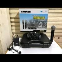 Mic Shure Wireless SHURE Koper PGX 242 PEGANG Clip on HEADSET