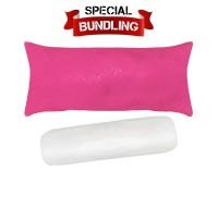 Paket Bundling | Reveire Body Pillow Fuschia & Guling Dacron