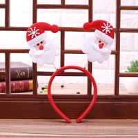 XBT bando karakter santa rusa pohon snowman natal christmas headband