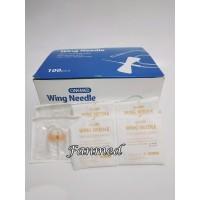 Needle Scalp Vein Set One Med Needle Wing Kupu Kupu 25 G Onemed Box