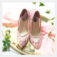 Petrina Dusty Pink Party shoes 9cm