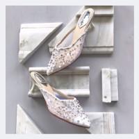 Nova White Wedding shoes 5cm