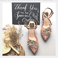 Naomi Blush Party shoes 7cm