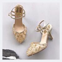 Roela Gold Party shoes 8.3cm