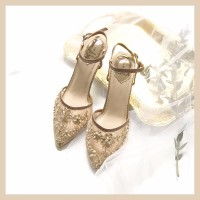 Nazla Mocha Party shoes 7cm