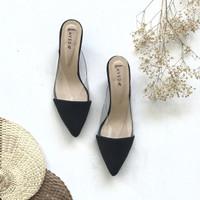 Zia Black Causal shoes 6cm