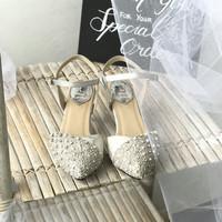Rose Silver Party shoes 5cm