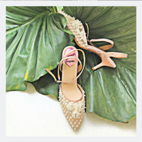 Nessie Nude Party shoes 7cm