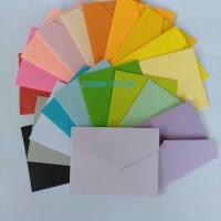 Amplop warna angpao polos 6x8cm spektra