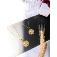 DearMe - ELIZABETH II Necklace(925 Sterling Silver & 24K Gold plating)