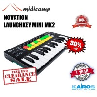 launchkey mini - 25 key controller with pad