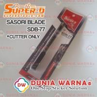 SUPER-D TOOLS JAPAN CUTTER WRAPPING SASORI BLADE SDB-77 LITE EDITION