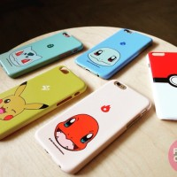 Pokemon Case - Hardcase For Casing Iphone 4 4s 5 5s 6 6s 6 6s Samsung
