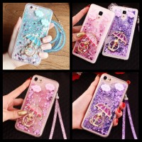 Case Water Glitter Xiaomi Note 3 Pro Ring Strap Murah