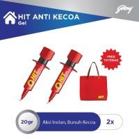 HIT Anti Kecoa Gel 20gr - 2pcs