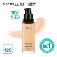 Maybelline Foundation Fit Me Pump Matte Pore -120 Classic Ivory