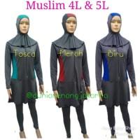 Baju Renang Rok Wanita PROMO Dewasa Muslim Ukuran Besar Jumb