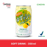 Soft Drink Yowanai Yuzusshu Soda