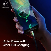 MCDODO 5A Super Charge Auto Disconnect Type C Kabel Data Fast Charging