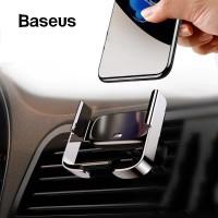 BASEUS Holder Mini Electric Phone Holder Car mount AC outlet