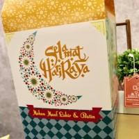 terbaru!!! BOX TOPLES KUE LEBARAN / IDUL FITRI DESIGN PACKAGING