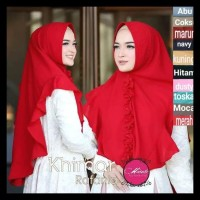 Jilbab Instan Khimar Rafania / Hijab Instan Khimar Rafania Elegan