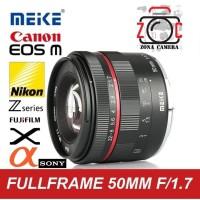 Meike 50mm F/1.7 APSC FullFrame Manual Lens Sony Fuji Canon M4/3 Nikon