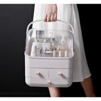 Portable cosmetic box Rak kosmetik Tempat penyimpanan kosmetik MH5999