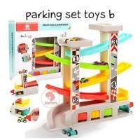 Zoetoys Parking Set Toys B | kado anak | mainan edukasi | mainan anak