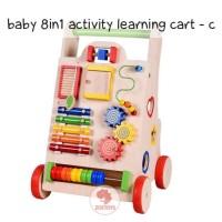Zoetoys Baby 8in1 Activity Learning Cart C | kado anak | mainan anak