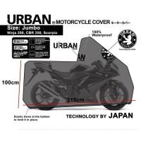 COVER MOTOR URBAN JUMBO WATERPROOF NMAX TIGER VIXION BYSON CBR
