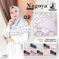 Hijab Segi Empat Scarf Umama Nagoya Tipe B