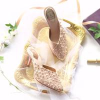 Rae Blush & Ivory Party shoes 8.3cm