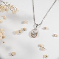 Liontin Berlian - Pear - Ivana Jewellery