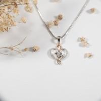 Liontin Berlian - Hati - Ivana Jewellery