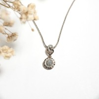 Liontin Berlian - Bulat - Ivana Jewellery