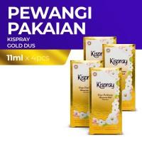 Kispray Dus Glamorous Gold 11Ml - 4 Dus