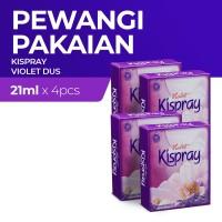 Kispray Dus Violet 21Ml - 4 Dus