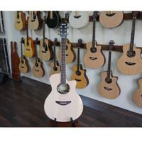 Gitar Akustik Electrik Ibanez 7545r Model Apx 600