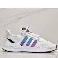 ORIGINAL Sepatu Adidas U Path Run01 Run White 2019 New