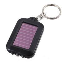 Gantungan Kunci Lampu Solarsel Mini Led Solar Charger