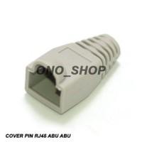 RJ45 Plug Boot Cover Abu-Abu
