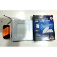Downlight Led panel 8 Watt Segi Kotak IB putih Lucky One Garansi 1 thn