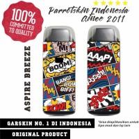 Garskin Aspire Breeze kit mod vape comic edition - free custom